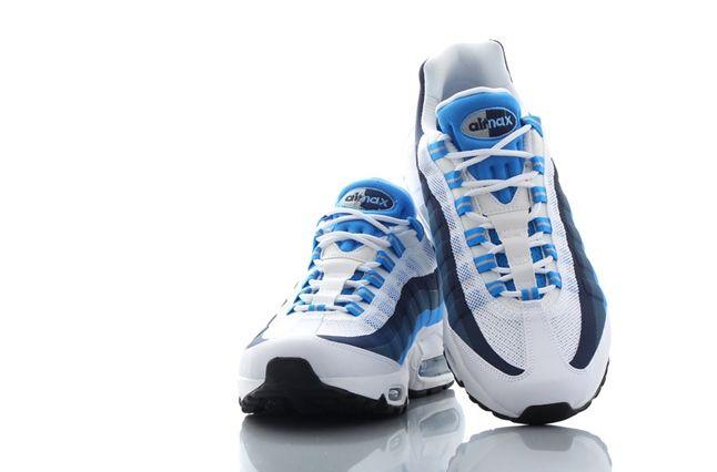 Nike Air Max 95 No Sew Uni Blue Photo Blue 3