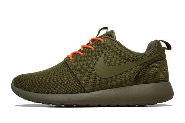 Nike Roshe Run 2Face Orange Profile 1