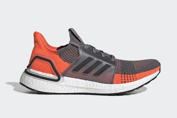 Adidas Ultraboost Hi Res Coral Lateral