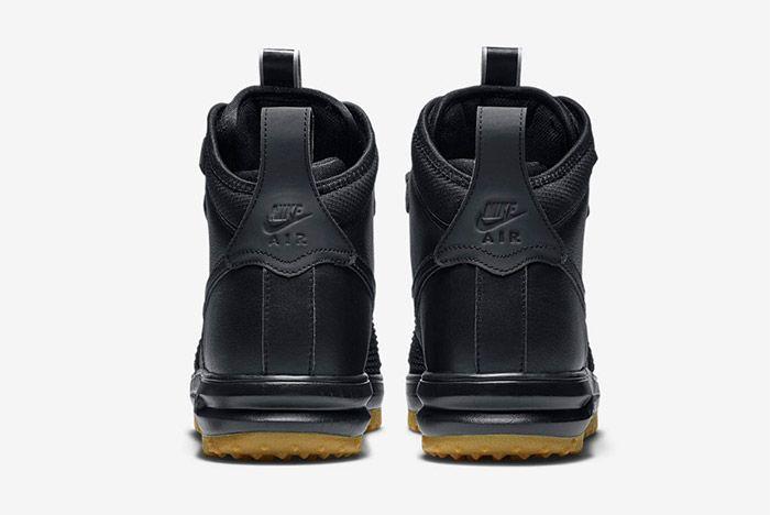 Nike Lunar Force 1 Duckboot Black 1
