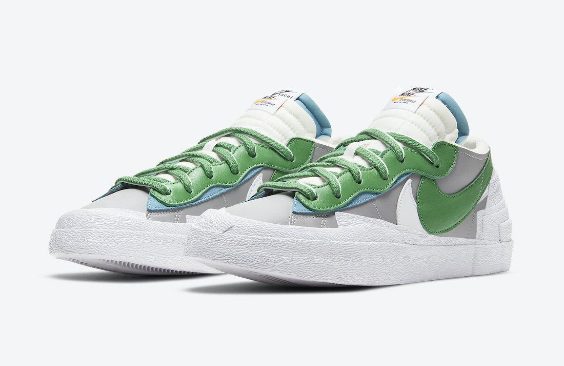 sacai Nike Blazer Low Classic Green