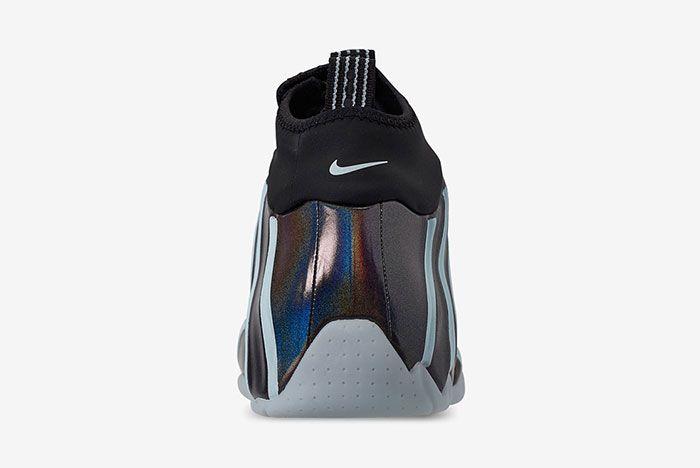Nike Air Flightposite One Topaz Mist Heel