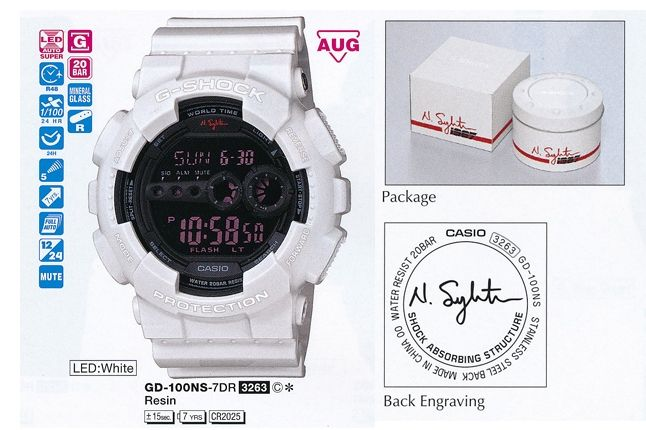 Nigel Sylvester G Shock Gd 100 646 1