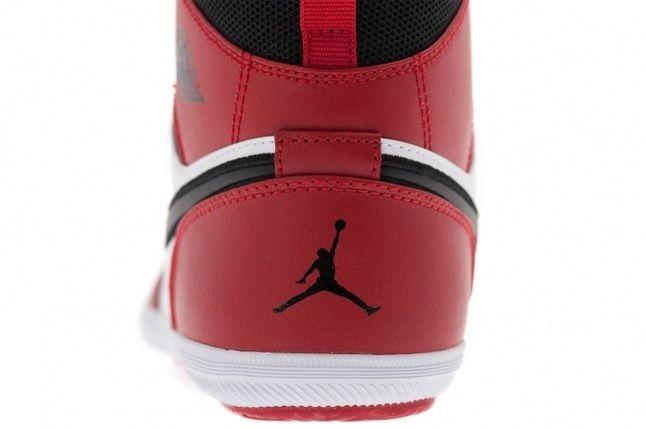 Air Jordan1 Skinny High Gymred Blk Wht Heel Detail 1