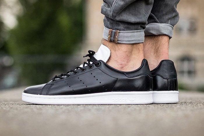 Adidas Stan Smith Core Black White 1