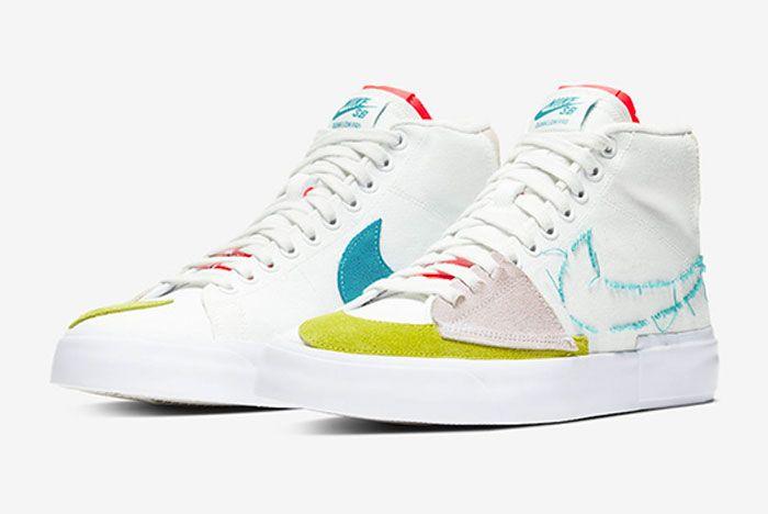 Nike Sb Blazer Mid Edge Toe