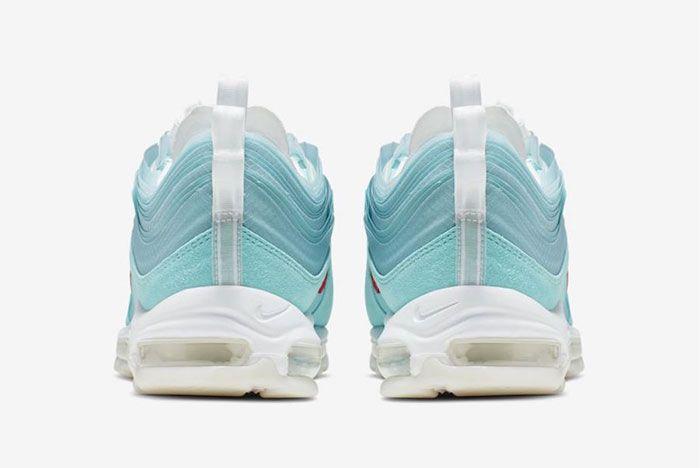 Nike Air Max 97 Shanghai Kaleidoscope Release Date Heel