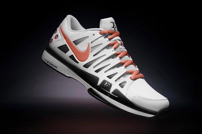 Nikeid Roger Federer Vote Zoom Vapor 9 Black Salmon 1