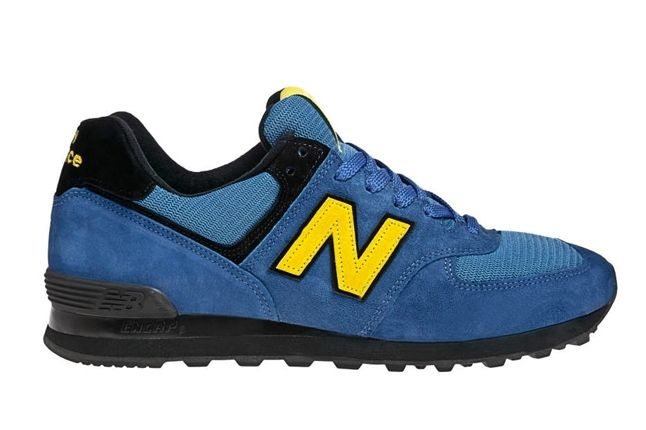 New Balance Race Inspired 574 Blue And Yellowprofile 1