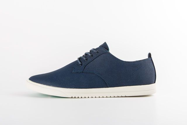 Clae Ellington Deep Navy Sideview
