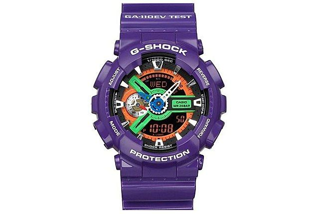 G Shock Neon Genesis Eva 6 1