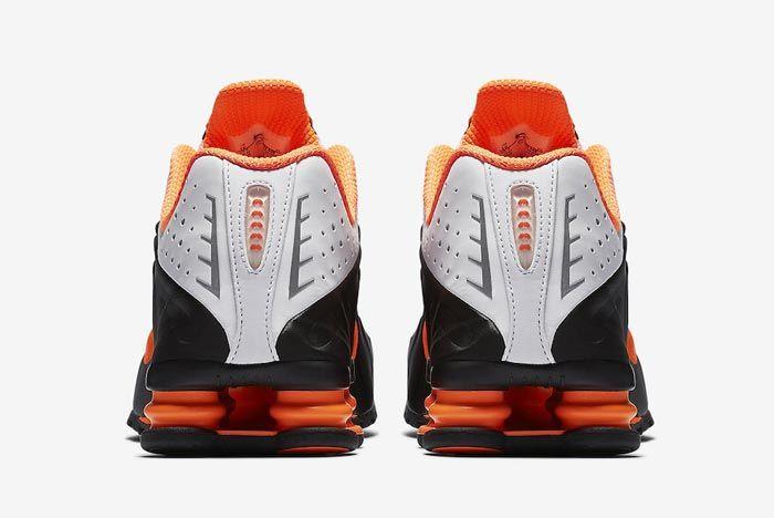 Nike Shox R4 Dutch Orange Heels
