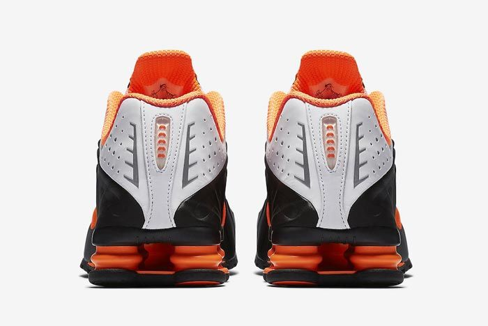 Nike Shox R4 Dutch Orange Heels