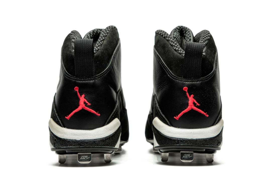 Air Jordan 10 Sample Baseball Cleat Heel