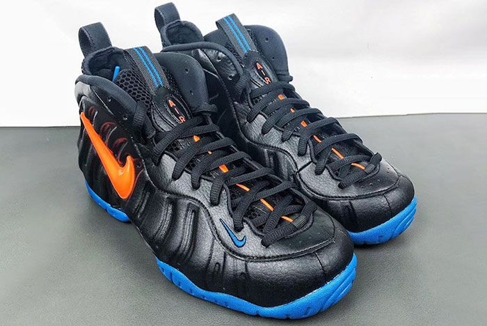 Nike Air Foamposite Pro Knicks 624041 010 2019 Release Date 1 Pair Angle