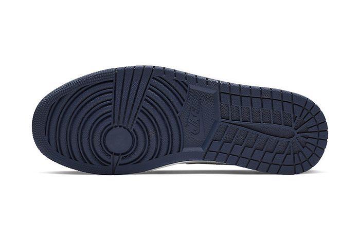 Nike Sb Air Jordan 1 Low Midnight Navy Cj7891 400 Release Date Outsole