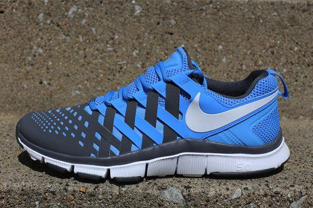 Nike Free Trainer University Blue Side 1