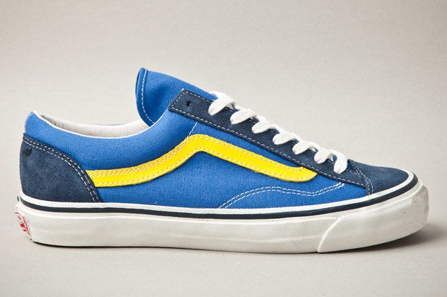 Vans Vault Og Style 36 Blue Yellow Side 1