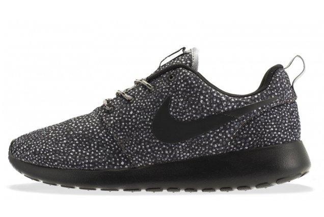 Nike Roshe Run Black Grey Speckle