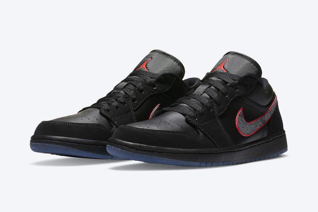 Air Jordan 1 Low 'Red Orbit'