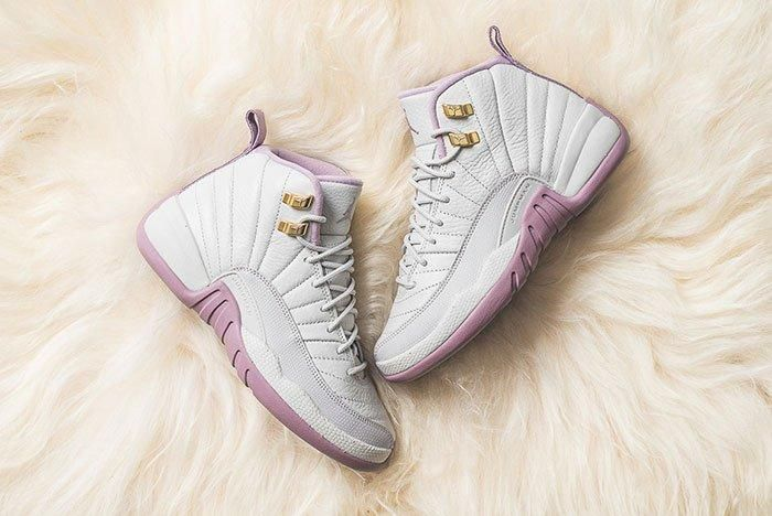 Air Jordan 12 Gg Heiress Plum Fog 1