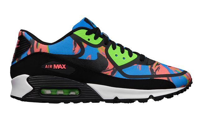 Nike Air Max 90 Premium Tape Hawaiian Camo 1