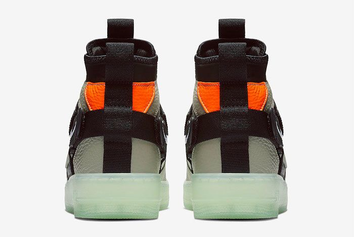 Nike Air Force 1 Mid Utility Spruce Fog Aq9758 300 Release Date Price 5