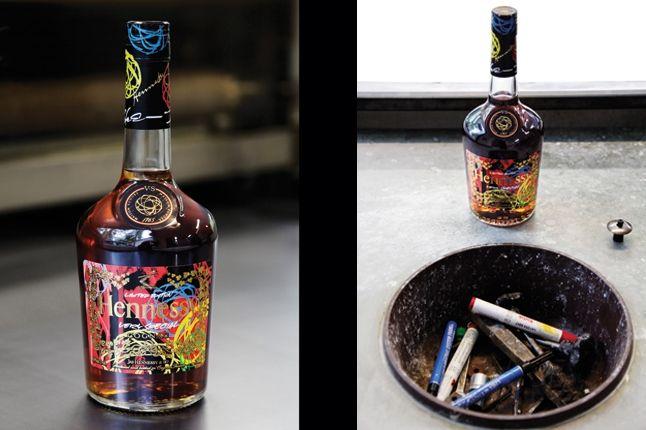 Futura For Hennessy Bottle 1