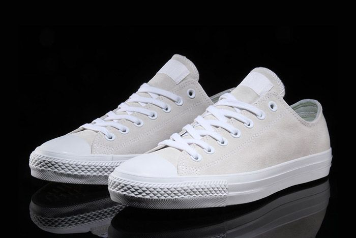 Converse Cons Chuck Taylor All Star Pro Cream Suede 6
