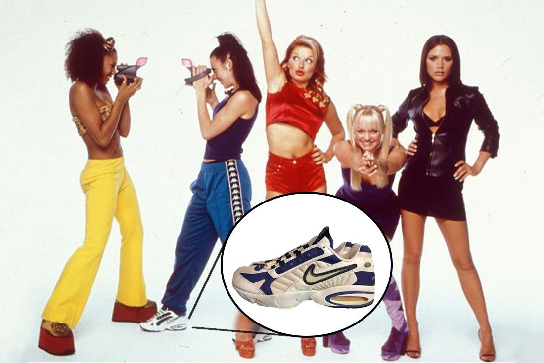 Spice Girls Mel C Air Max Triax 96
