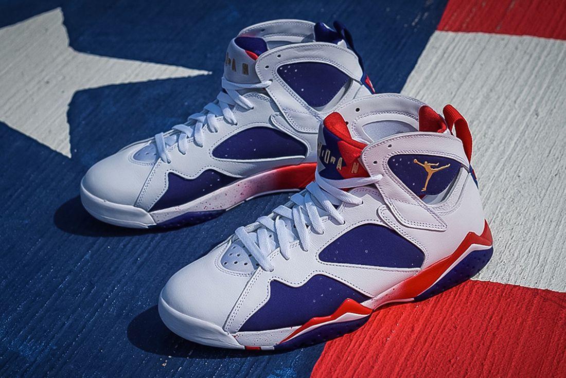 Air Jordan 7 Olympic Alternate4 1