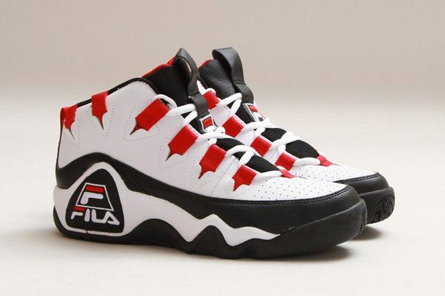 Fila The 95 White Fire Red Thumb