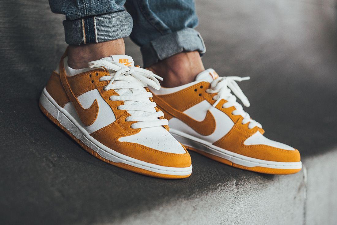 Nike Sb Dunk Low Circuit Orange 4 1
