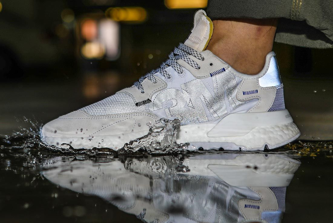 On Adidas Nite Jogger Whit Eleft