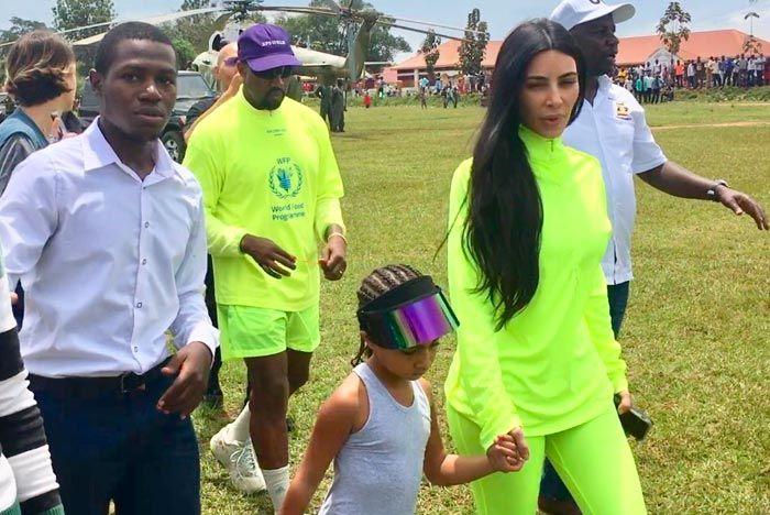 Kanye West Uganda Yeezy 350