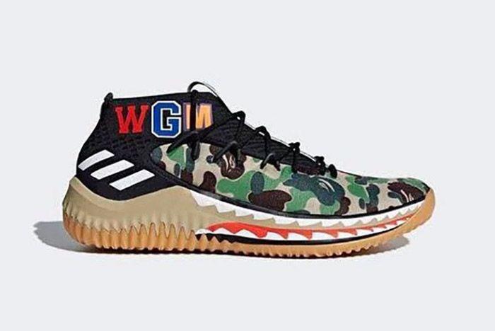 Adidas Bape Dame 4 3
