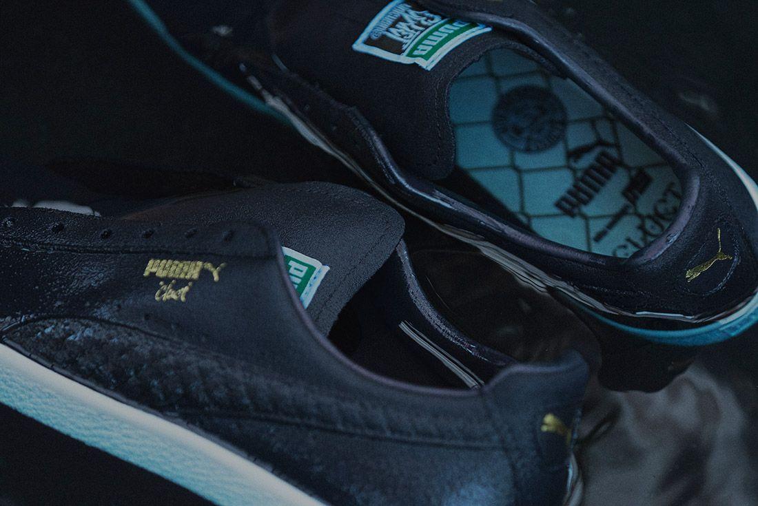Cluct X Mita Sneakers X Puma Clyde Indigo 15