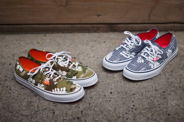 Vans Authentic Lx Aloha Cambray Pack 2