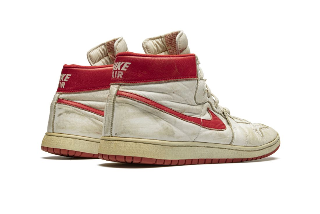 Nike Air Ship TYPS Game-Worn MJ Player Exclusive Angled