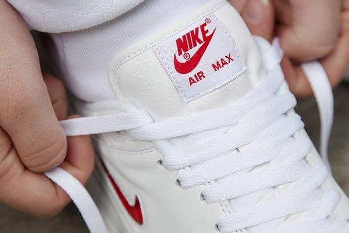 Nike Air Max 1 Jewel White Red 4