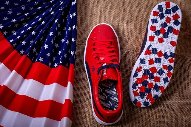 Puma Basket Independence Day Pack Red 2