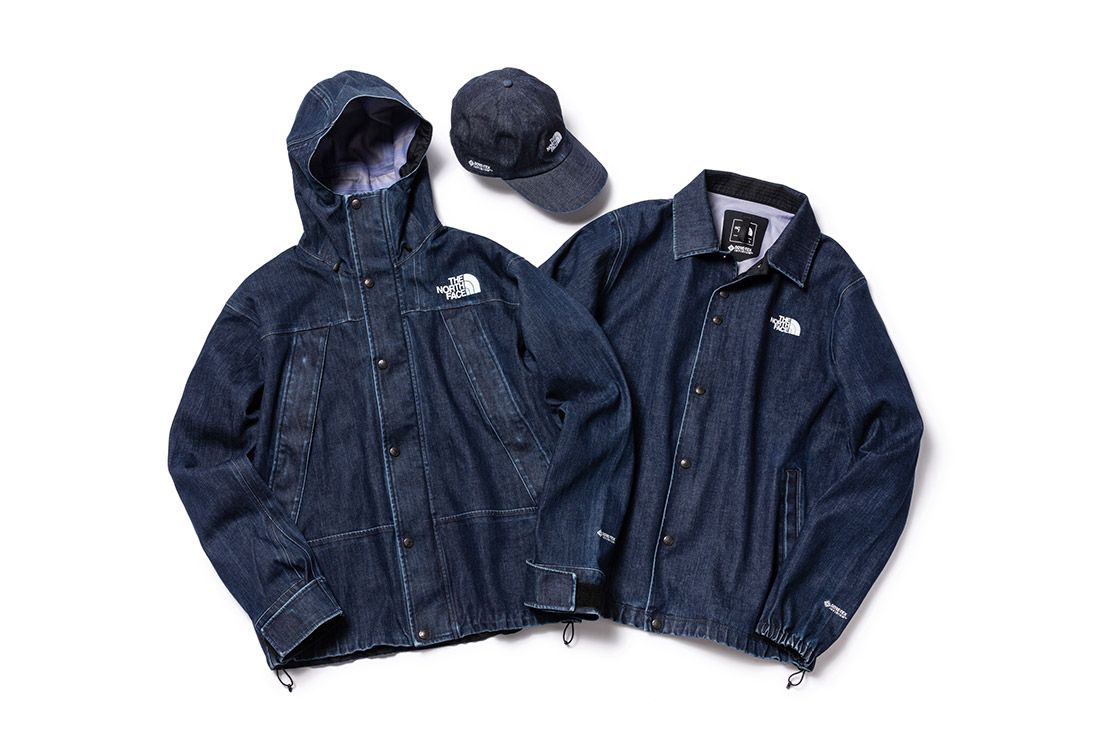 North Face Denim Gore Tex Japan