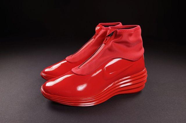 Nike Wmns Lunarelite Sky Hi Sneakerboot Action Red 5