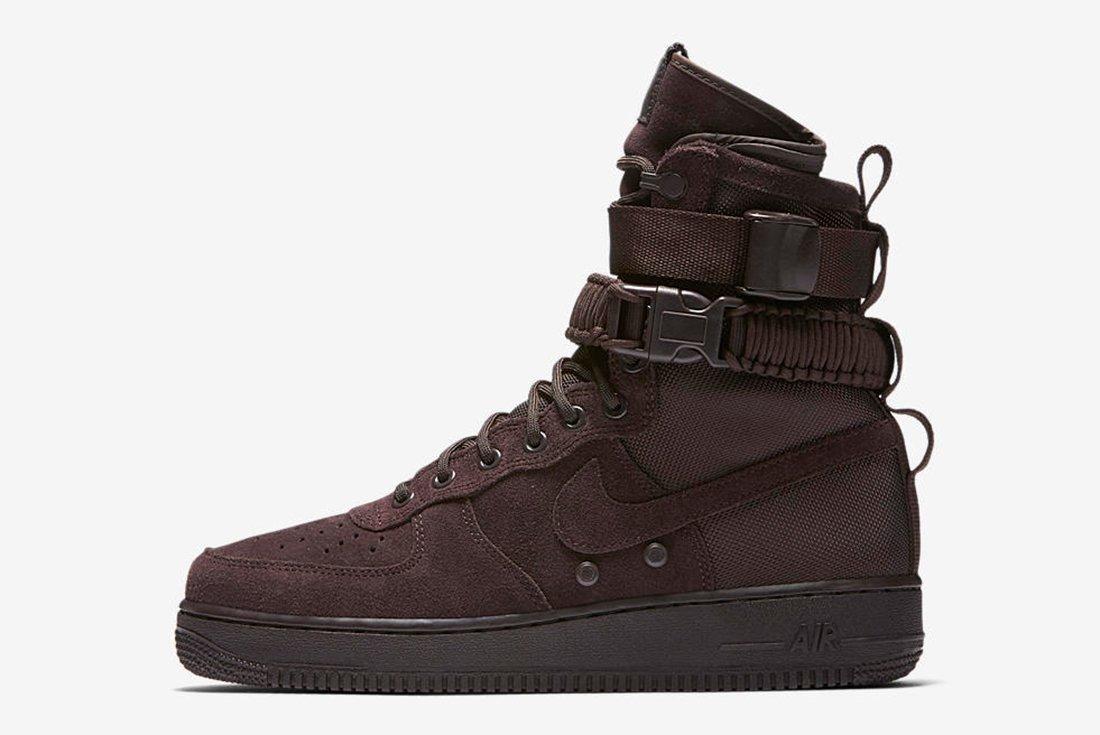 Nike Sf Air Force 1 Velvet Brown