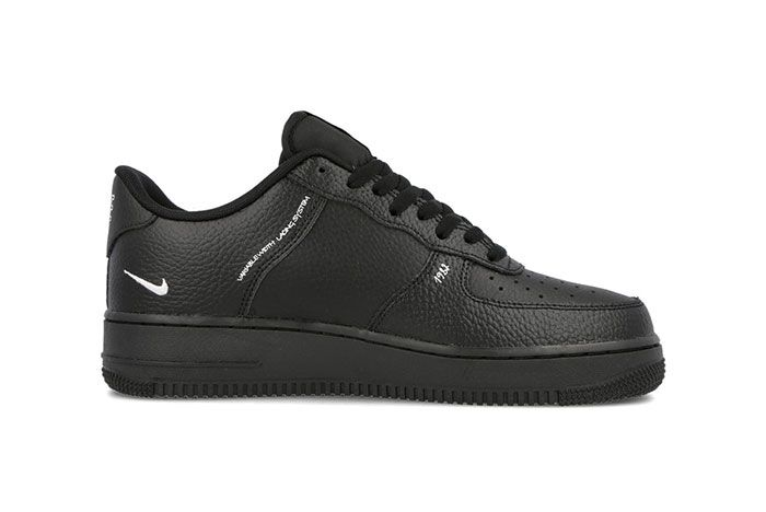 Nike Air Force 1 Sketch Black Right