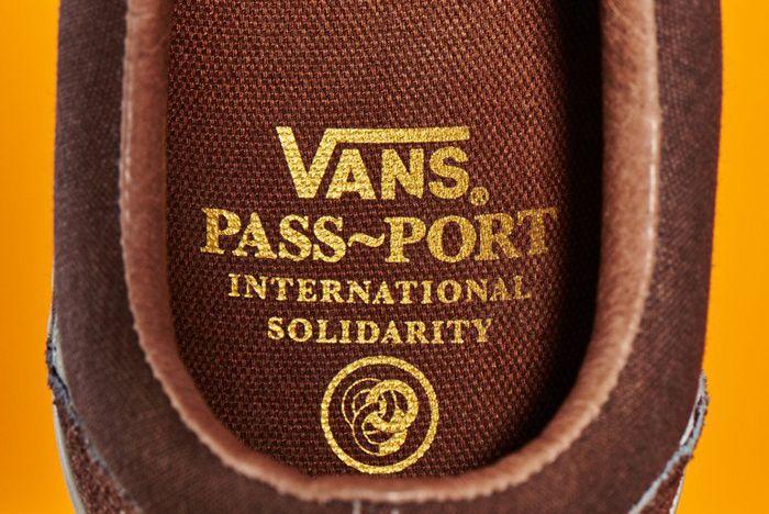 Pass Port X Vans Old Skool Pro1