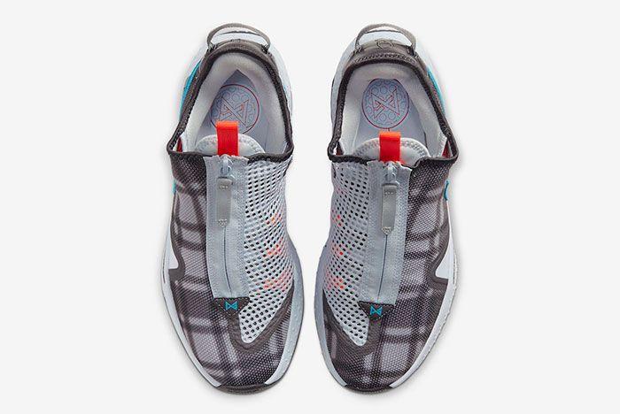 Nike Pg 4 Plaid Cd5079 002 Top