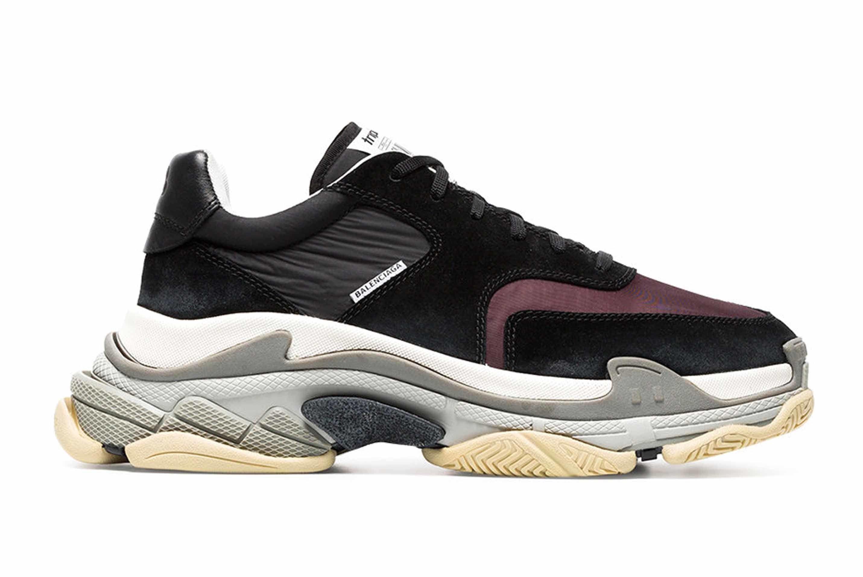 Balenciaga Triple S Sneaker Black Grey 1 Sneaker Freaker