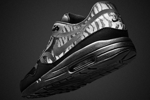 Nike Air Max 1 Black Reflective Collection