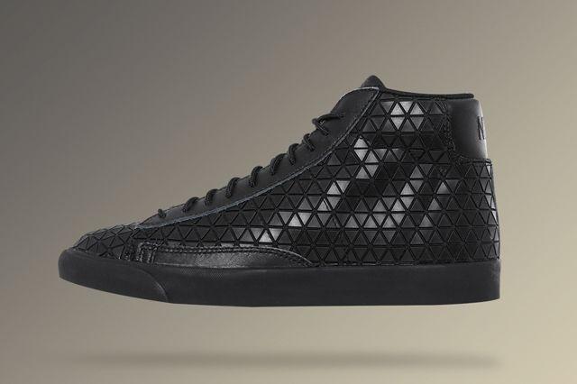 Nike Blazer Mid Metric Qs Triple Black 3
